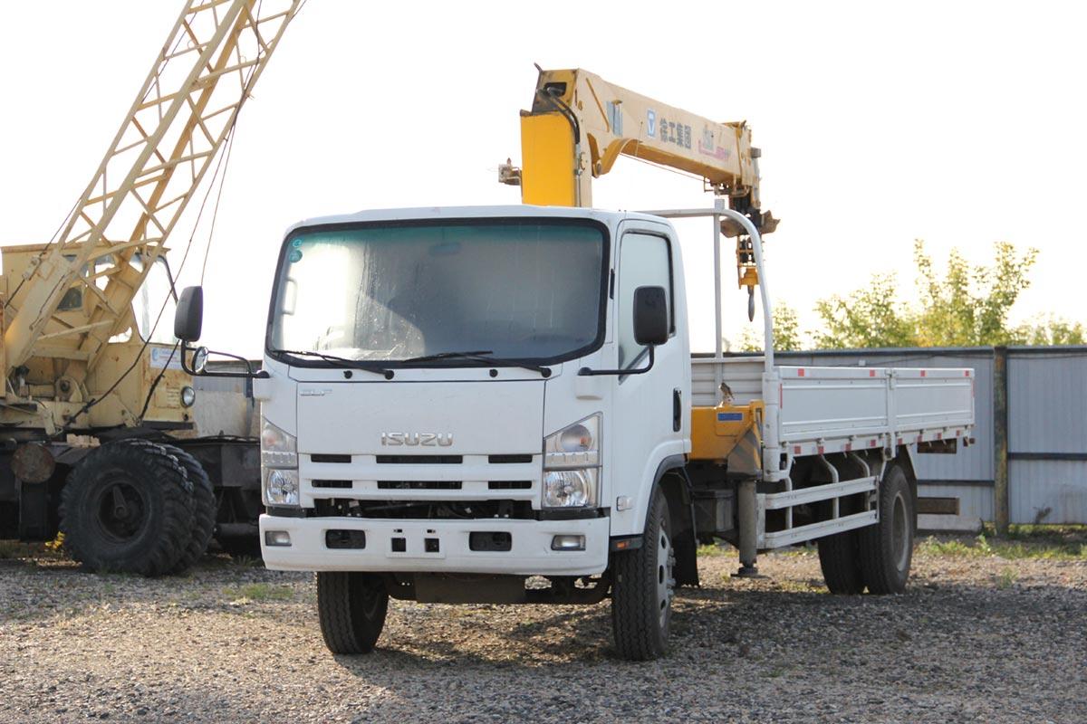 loan against Isuzu truck