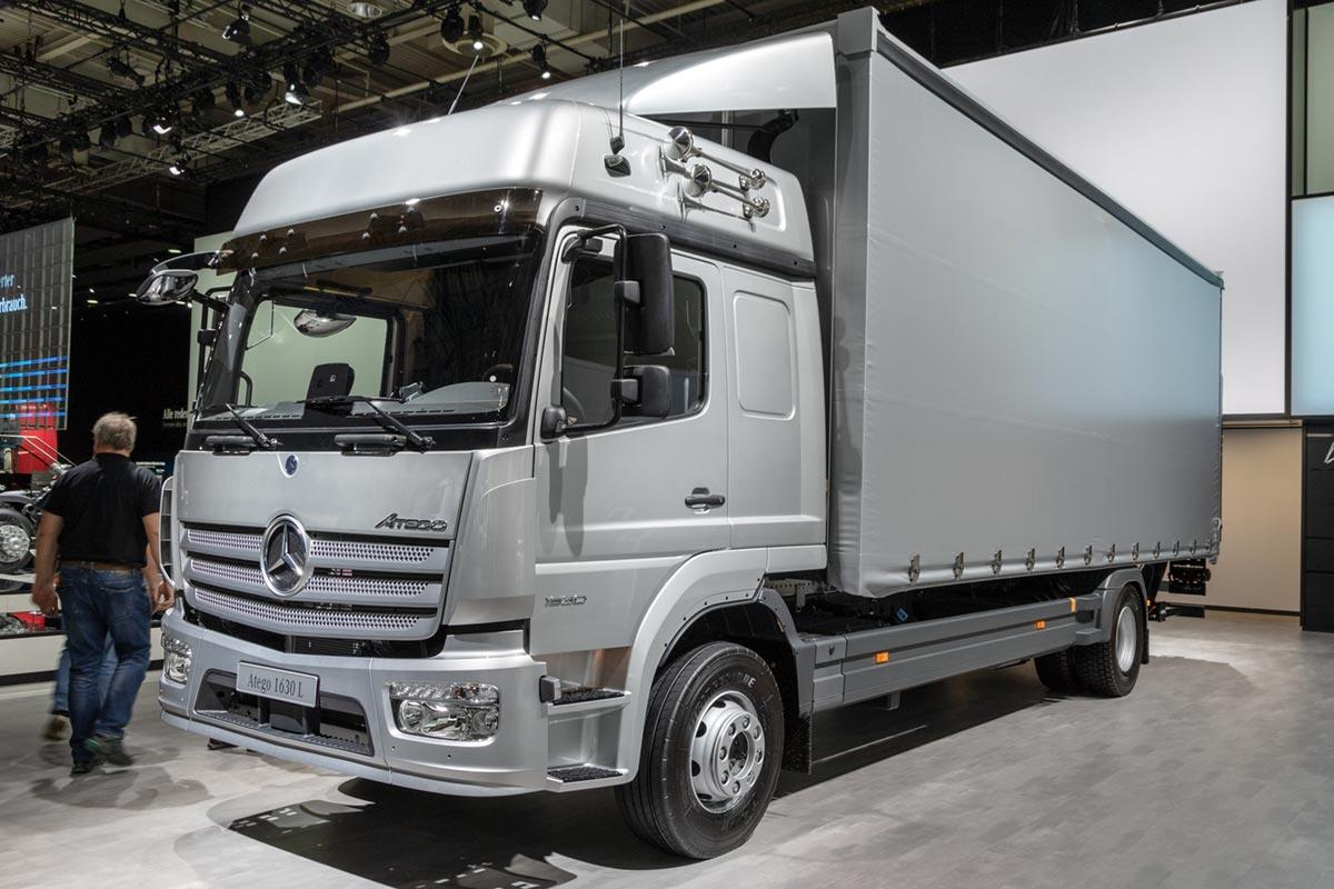 loan against Mercedes truck